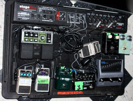 Brent Hinds of Mastodon Pedal Board Breakdown