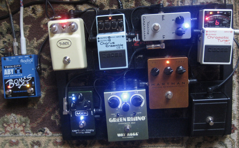 Pedal Line Friday - 10/28 - Jason Trahan