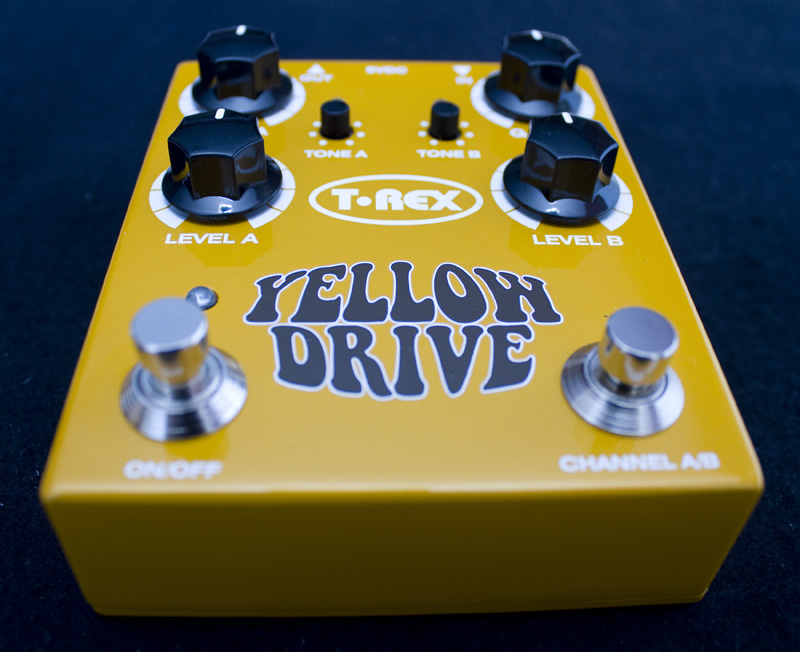 T-Rex Yellow Drive Demo