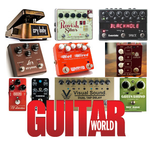 Guitar World Staff Picks: Paul Riario's Top 10 Effect Pedals of 2011