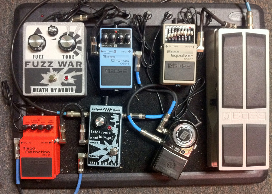 Pedal Line Friday - 12/16 - Devin Ozel
