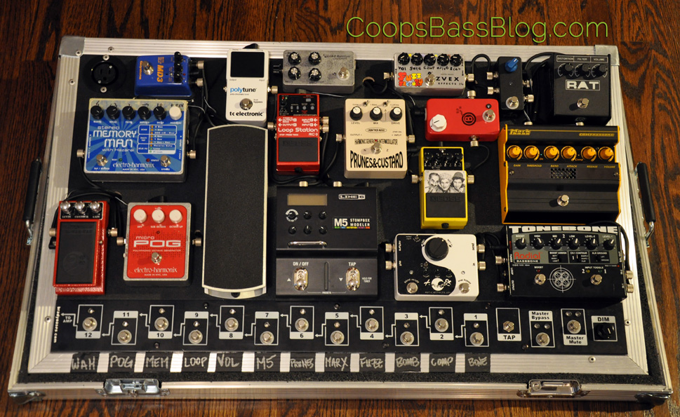 Pedal Line Friday - 12/23 - Cooper