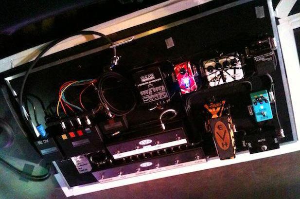 Eddie Van Halen - Van Halen - 2012 Pedal Board