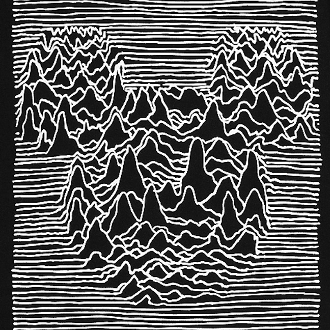 Unknown Pleasures Inspired Mickey Mouse Shirt