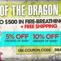 Musician's Friend - Year of the Dragon Sale - Coupon Code