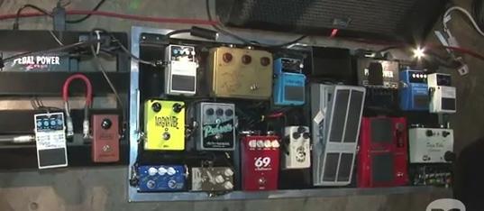 Rig Rundown - Nels Cline (Wilco Tour)