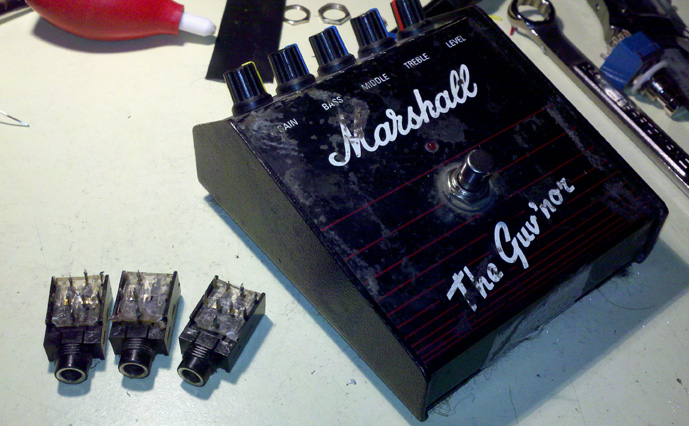 Marshall Guv'nor - Broken Jacks Removed