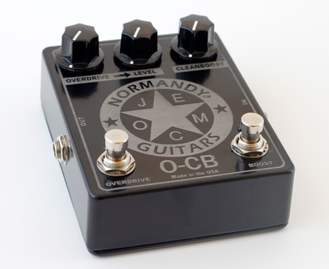 Normandy Guitars O-CB Overdrive Demo