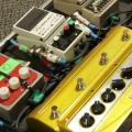 Ritzy Bryan Pedal board of The Joy Formidable