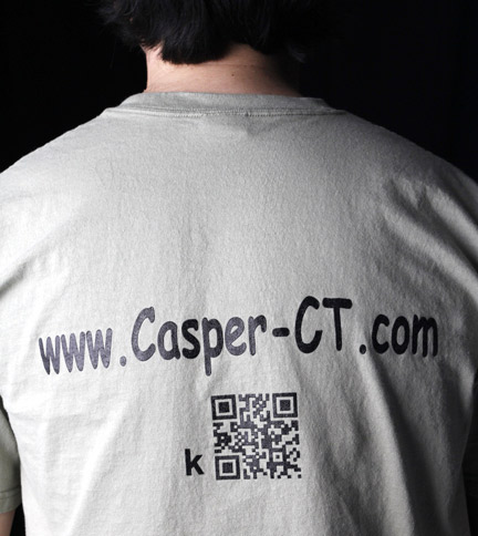 Free Shirt Wednesday - 3/14 - Casper Guitars [Back]