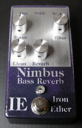 Bass EFX Guest Review: Iron Ether Nimbus Bass Reverb