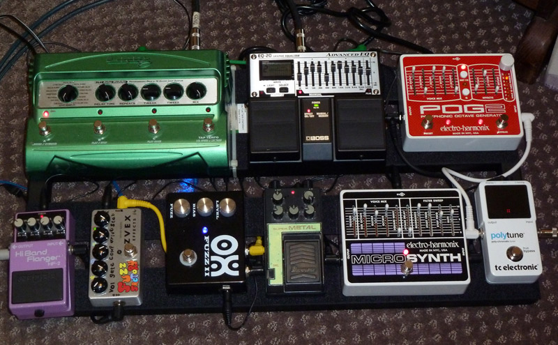 Pedal Line Friday - 3/23 - Nathan Speck