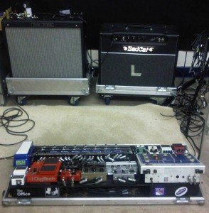 Pedal Line Friday - 3/30 - David Smith - Amps