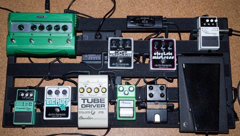 Pedal Line Friday - 4/27 - Philippe Pelletier