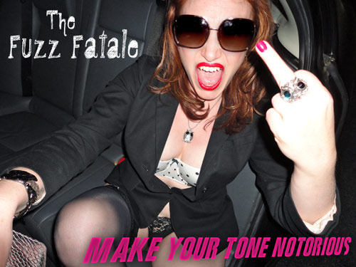 Fuzz Box Girl - Fuzz Fatale Available for Purchase