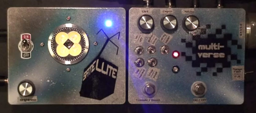 Marrs Pedals - Multiverse and Satellite Probe
