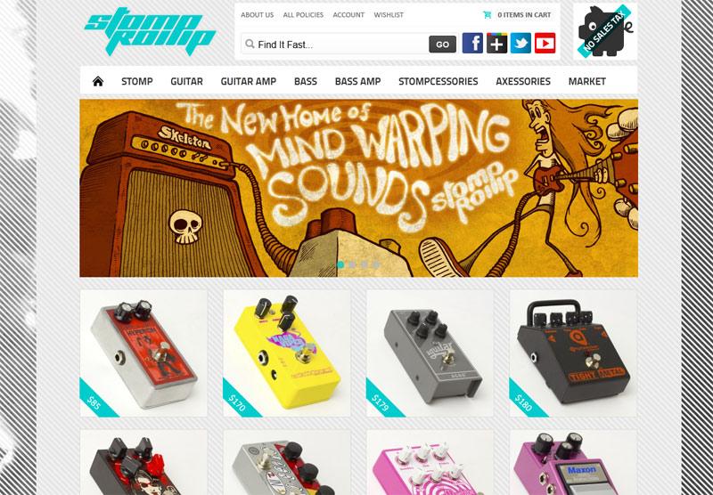 StompRomp Site