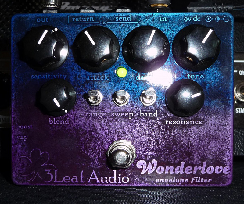 Bass EFX Review: 3Leaf Audio Wonderlove Envelope Filter