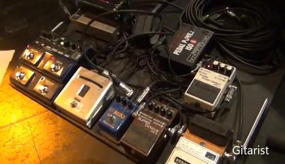 Bill Kelliher - Mastodon - Pedal Board Breakdown