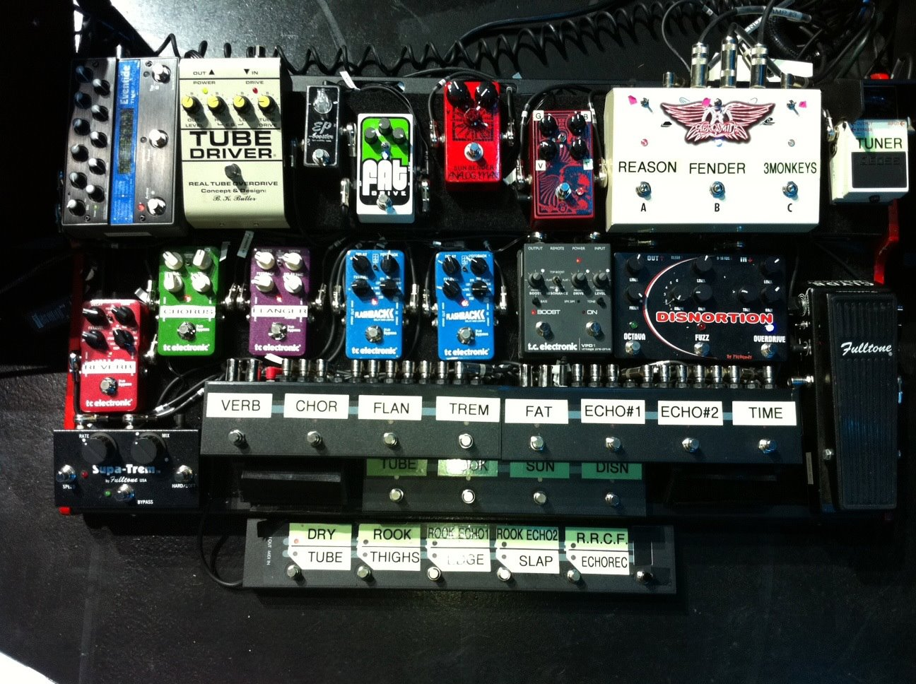 Brad Whitford - Aerosmith - Pedal Board Breakdown