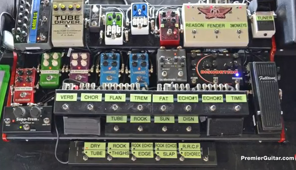Brad Whitford – Aerosmith – Rig Rundown