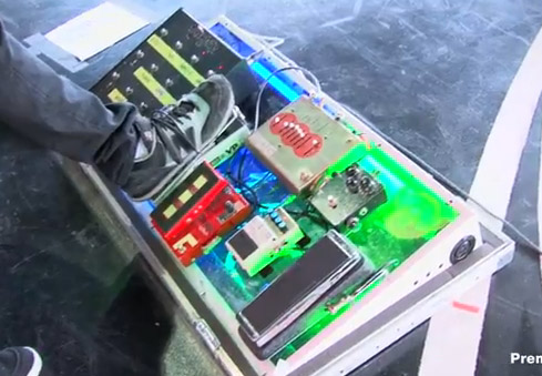 Joe Perry - Aerosmith – Rig Rundown - Stage Pedals