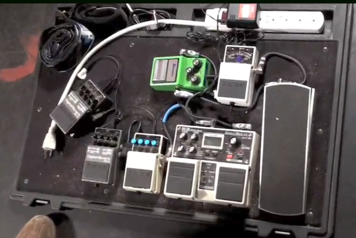 Pedal Board Breakdown - Laurent Schroeder-Lebec - Pelican