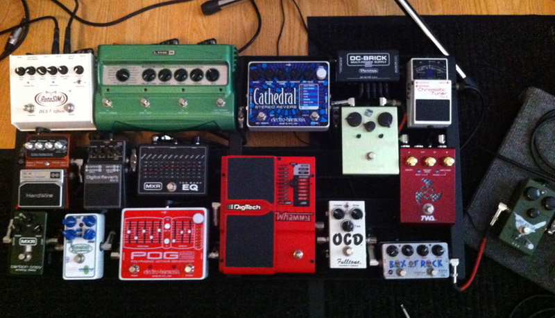 Pedal Line Friday - 8/17 - Mark Yoder