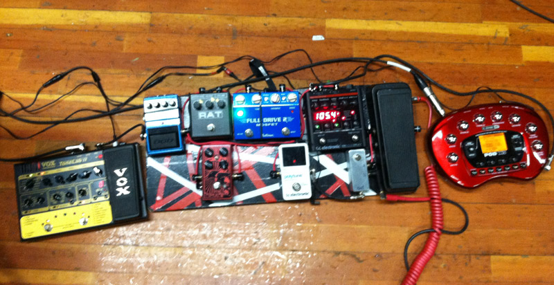 Pedal Line Friday - 8/24 - Brian Cheetham