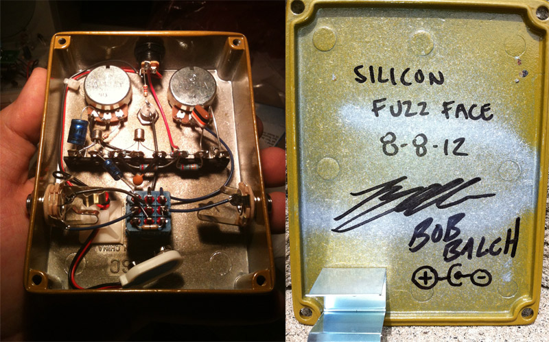 Play This Riff - Creepy Fingers Silicon Fuzz Face (Signed) - Give Away
