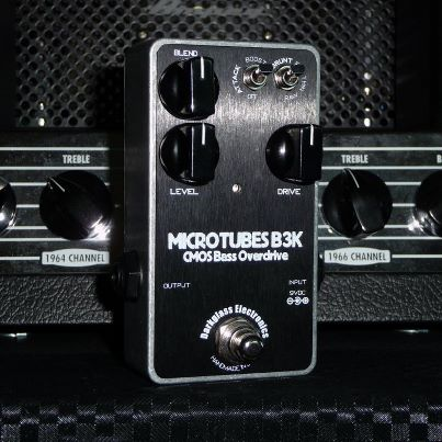 Bass EFX Review: Darkglass Microtubes B3K