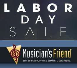 Musician's Friend Labor Day + Other Coupon Codes!