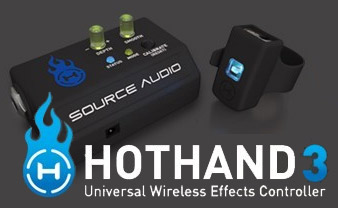 Source Audio Hot Hand 3 - Universal Wireless Effects Controller