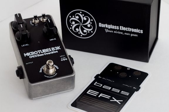 BassEFX and Darkglass Electronics Microtubes B3K Give Away - Reminder