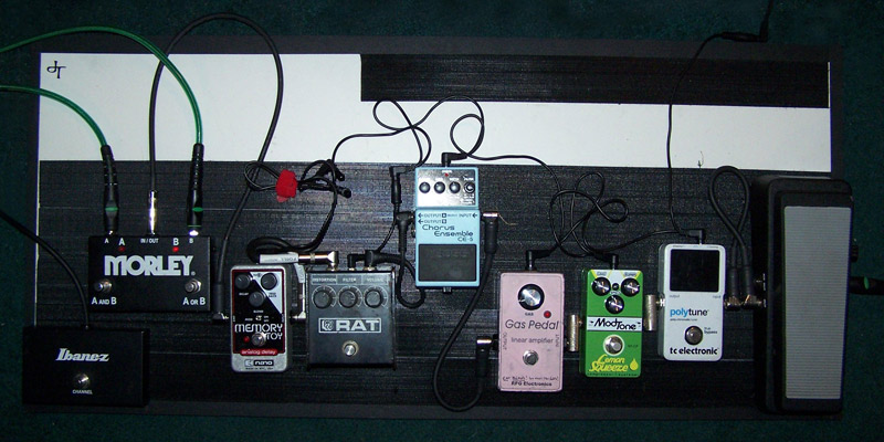 Pedal Line Friday - 10/19 - Jim Tyyska