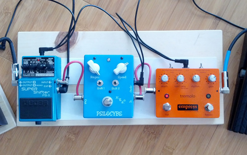 Pedal Line Friday - 10/26 - Chris Palmer - Modulation Effects