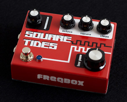 Freqbox Pedals - Square Tides Fuzz Demo