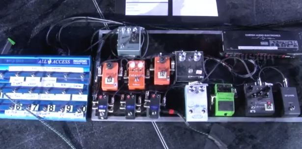 Pedal Board Breakdown - Billy Corgan