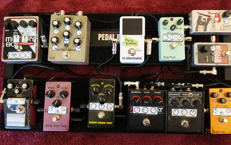 Pedal Line Friday - 12/14 - Noah