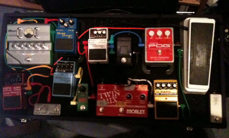 Pedal Line Friday - 12/28 - Tom Warland