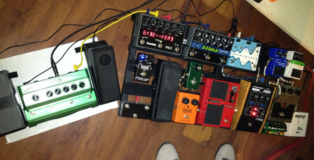 Pedal Line Friday - 1/4 - Brandon Highfill