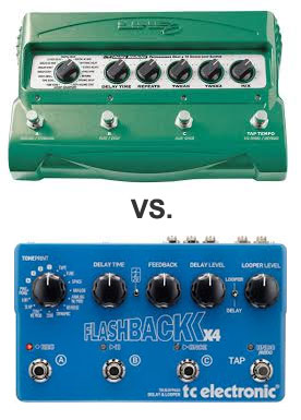 Guest Post: TC Electronic Flashback X4 vs Line 6 DL4