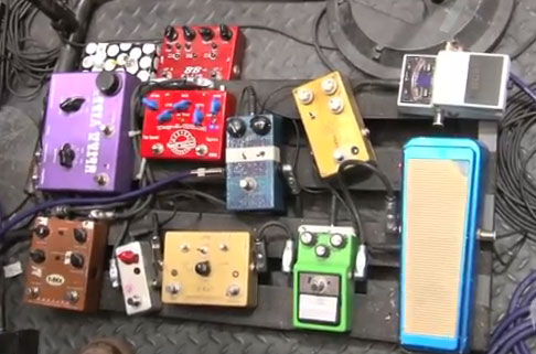 Pedal Board Breakdown - Jared Scharff - Saturday Night Live Band