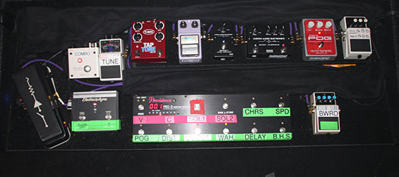 Pedal Board Breakdown - Kim Thayil - Soundgarden
