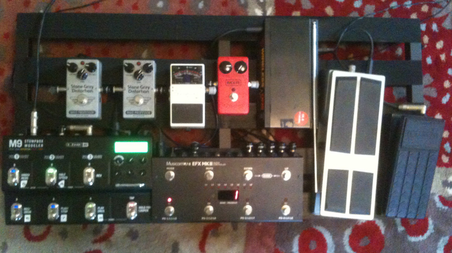 Pedal Line Friday - 3/29 - Chris Wood