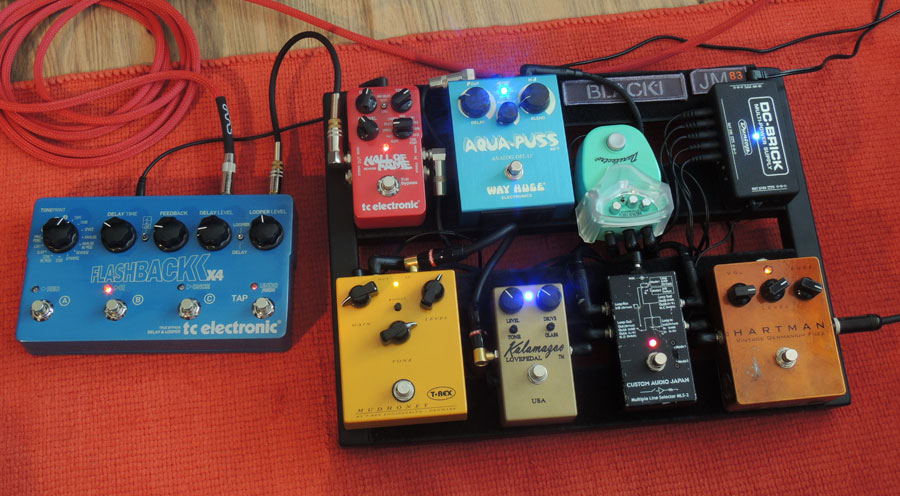 Pedal Line Friday -3/8 - Keith Lee