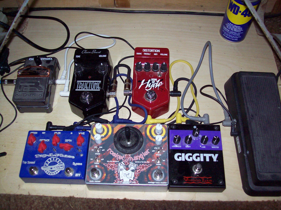 Pedal Line Friday - 5/17 - Shawn Downer