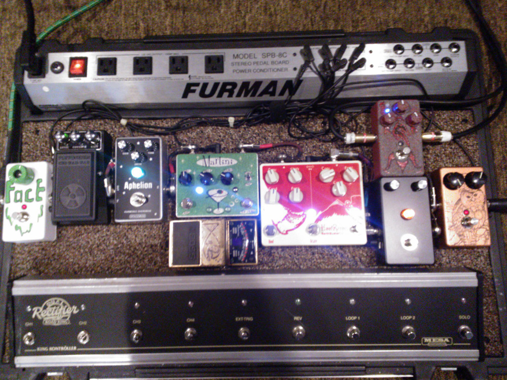 Pedal Line Friday - 5/24 - Mike Rubicz