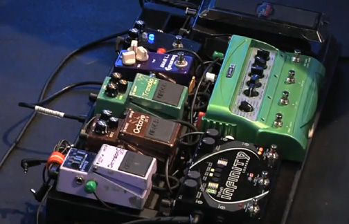 Phil Keaggy Pedalboard