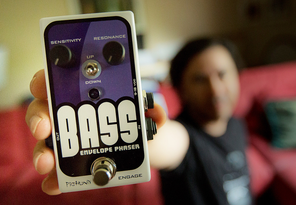 Pigtronix Bass Envelope Phaser Give Away